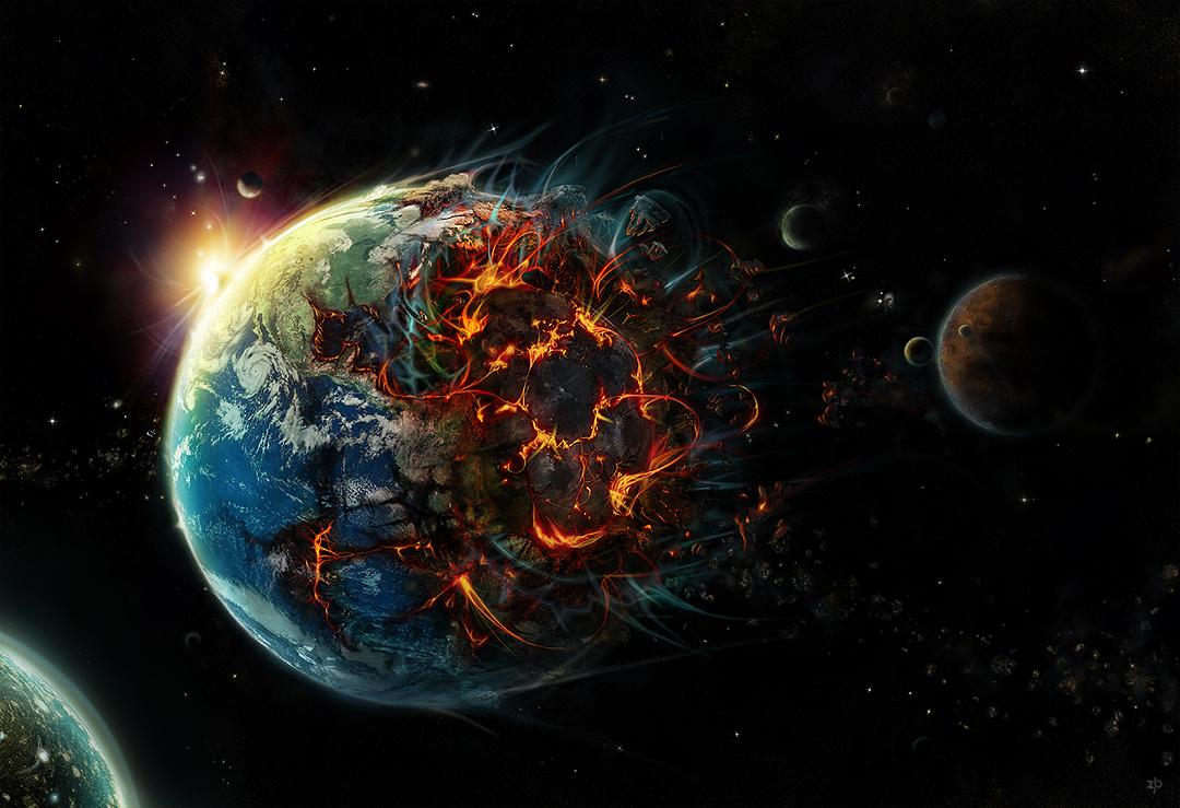 астероид летит на землю