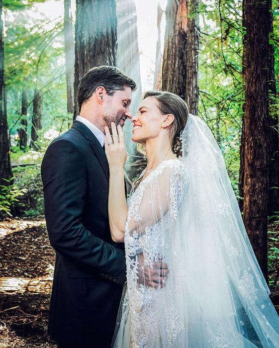 свадьба хилари суонк