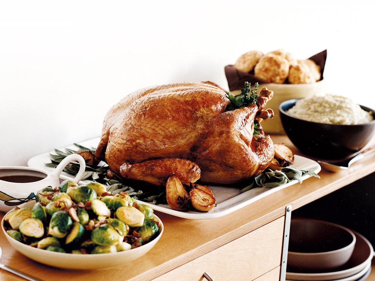 как приготовить индейку на день благодарения
