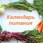 Рождественский пост: календарь питания по дням