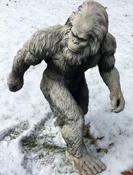 снежный человек фото