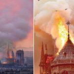 Стала известна предварительная причина пожара в Соборе Парижской Богоматери