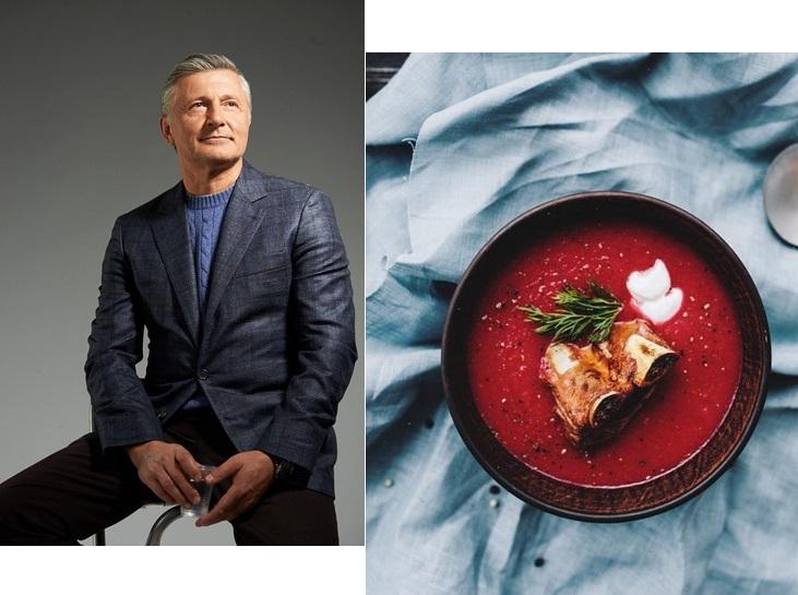 Рецепт особенного украинского борща от Станислава Боклана