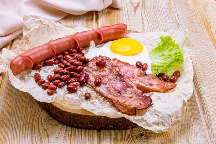 английский завтрак ингредиенты