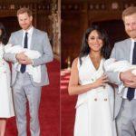 Меган Маркл и принц Гарри познакомили мир с сыном