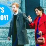 Принц Гарри впервые прокомментировал рождение сына (ВИДЕО)