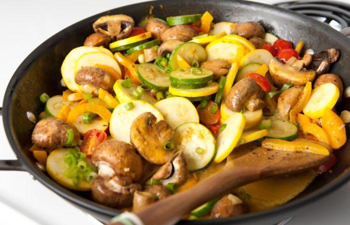 рагу из молодых овощей рецепт