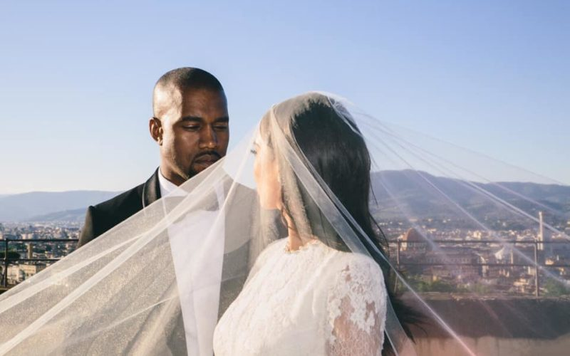 свадьба ким и канье