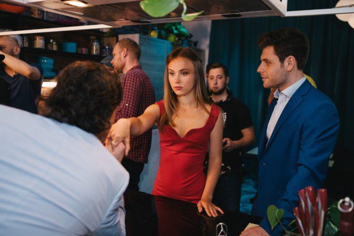 Анна Кошмал и Артур Логай