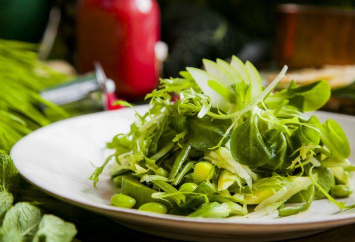 польза овощей зеленого цвета