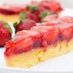 Пирог с клубникой: рецепт от ведущей «Ревизор» Юлии Панковой