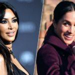 Стало известно, почему Ким Кардашьян видит соперницу в Меган Маркл