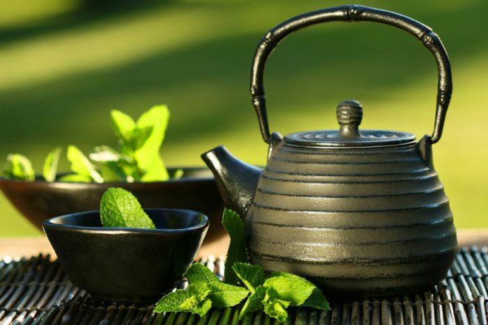 зеленый чай википедия
