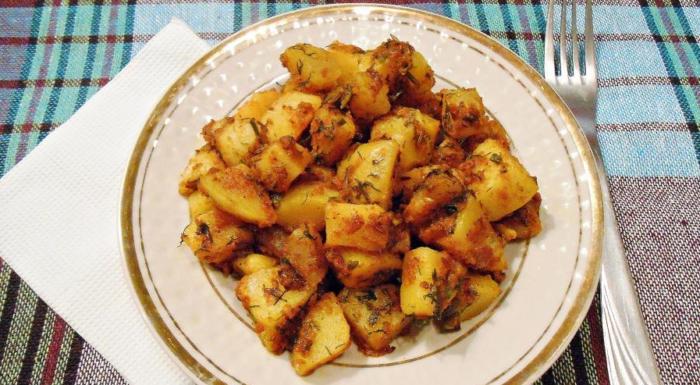 картофель по-бомбейски рецепт