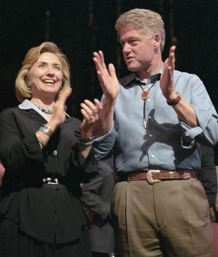 клинтоны помирились после измены