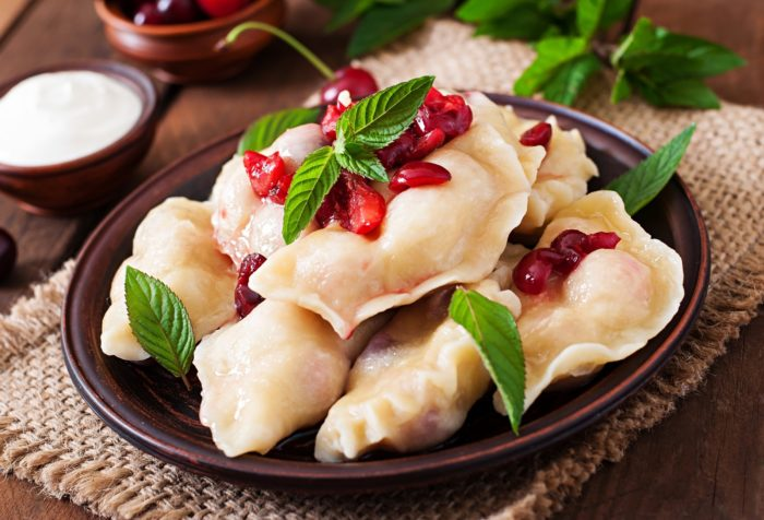 Блюда из летних ягод