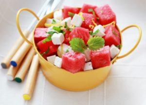 салат из арбуза рецепт