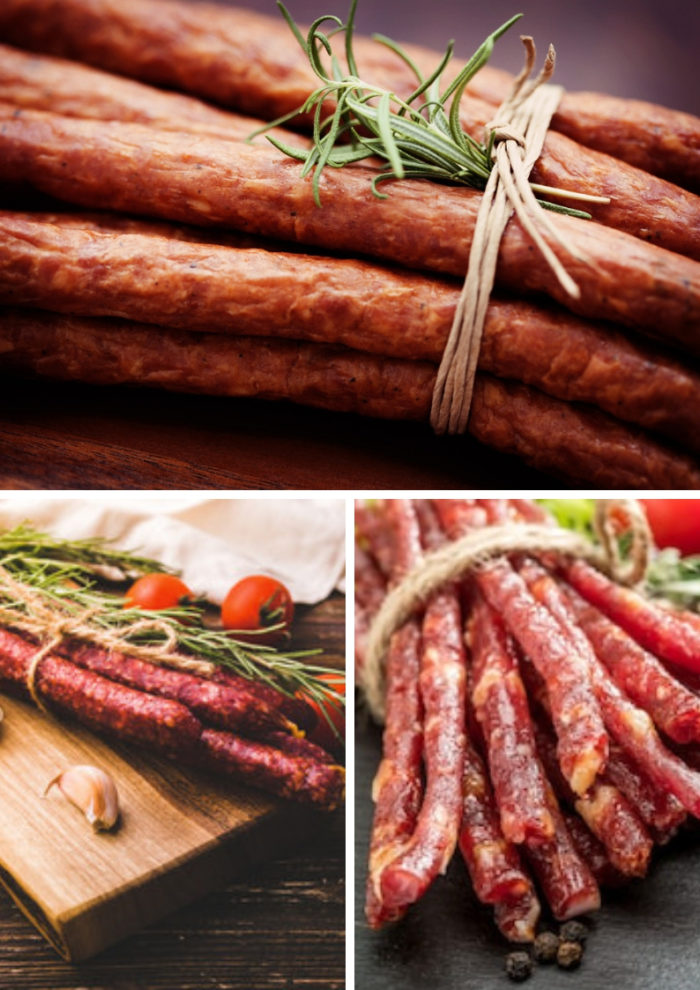 виды колбасы Кабаноси
