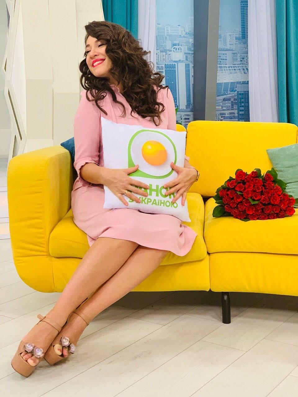 Наталка Карпа беременна