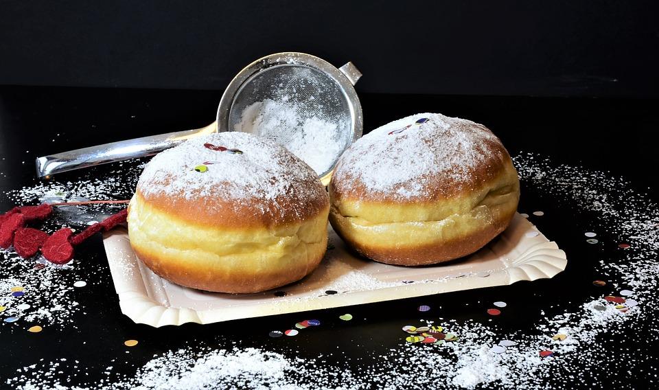 берлинеры рецепт пышных пончиков
