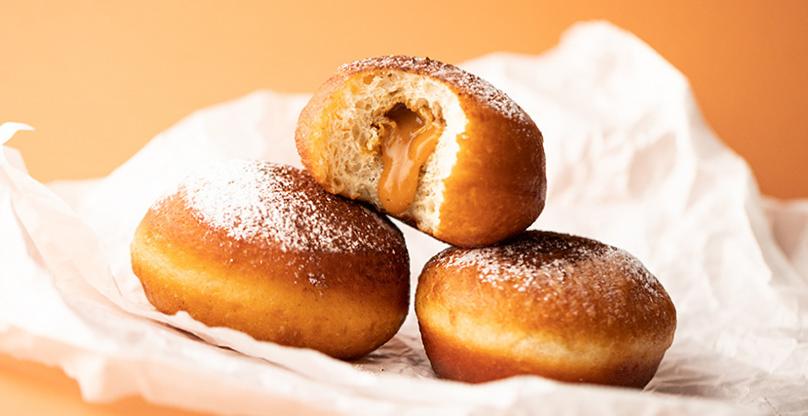 пончики с начинкой рецепт пошаговый