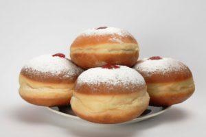 пышные пончики с начинкой рецепт