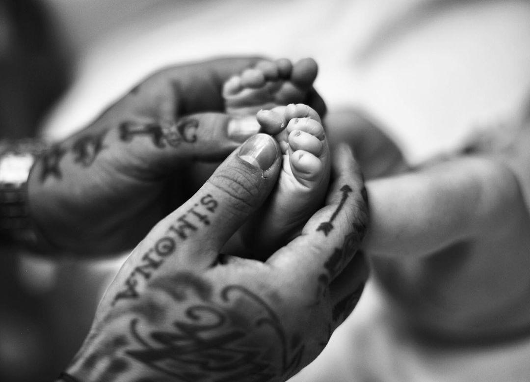 решетова родила ребенка