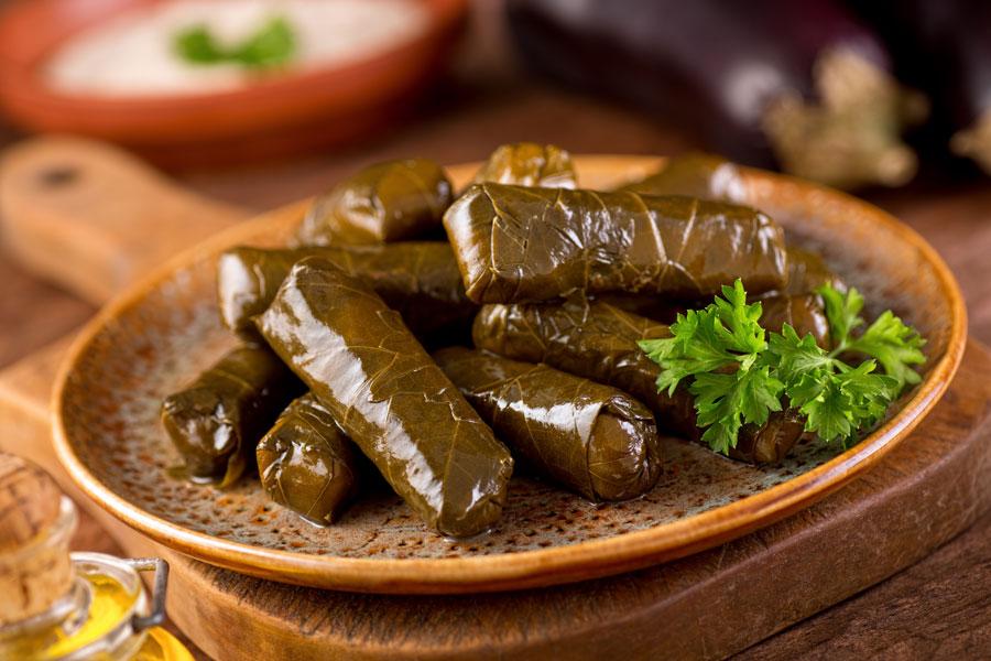 Долмадес греческая кухня