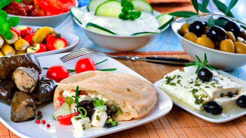 блюда греческой кухни вкусные рецепты