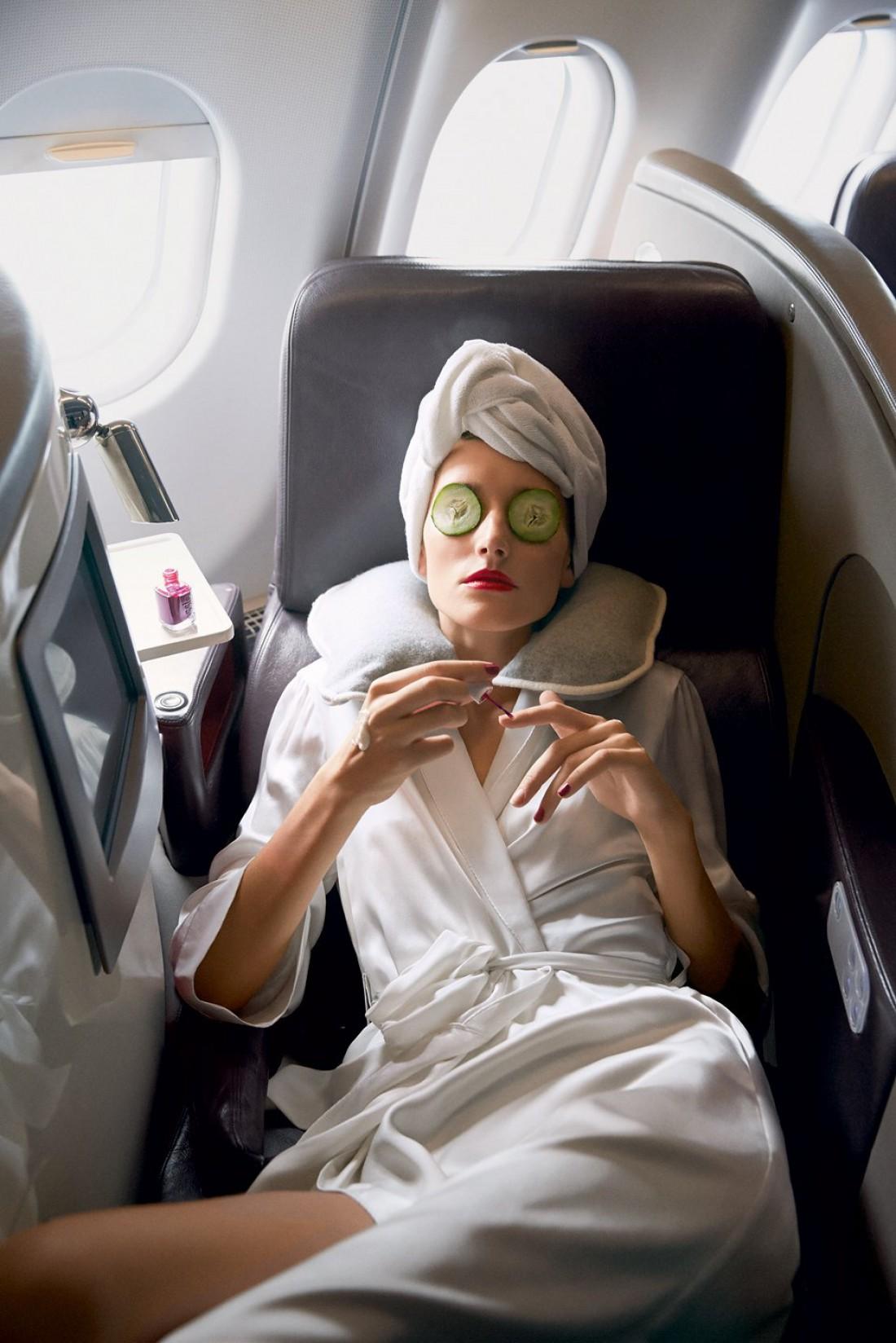 что делать в самолете