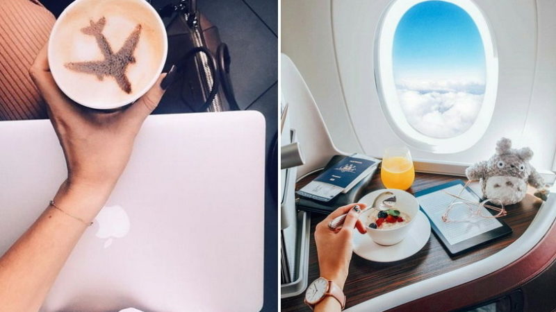 Чем заняться во время перелета: 10 нескучных идей