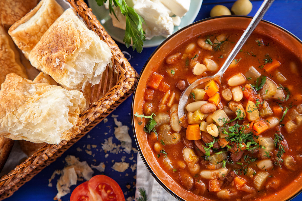 фасолада рецепты греческой кухни