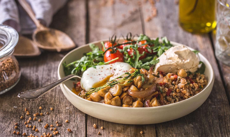 рецепты блюд с гречкой