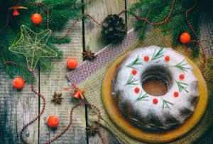 рождественский кекс рецепт