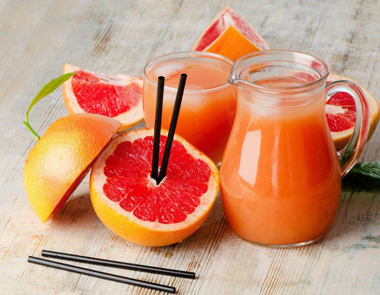 Грейпфрут сок похудение