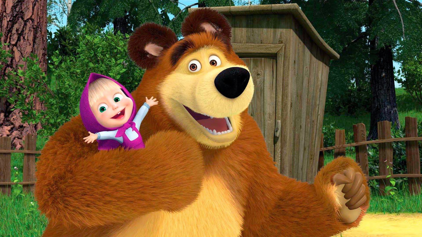 """""""Маша и Медведь"""": интересные факты о любимом всеми мультсериале"""