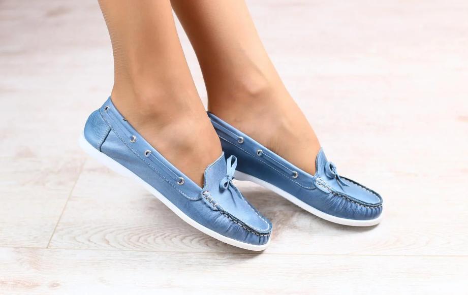 мокасины вид женской обуви