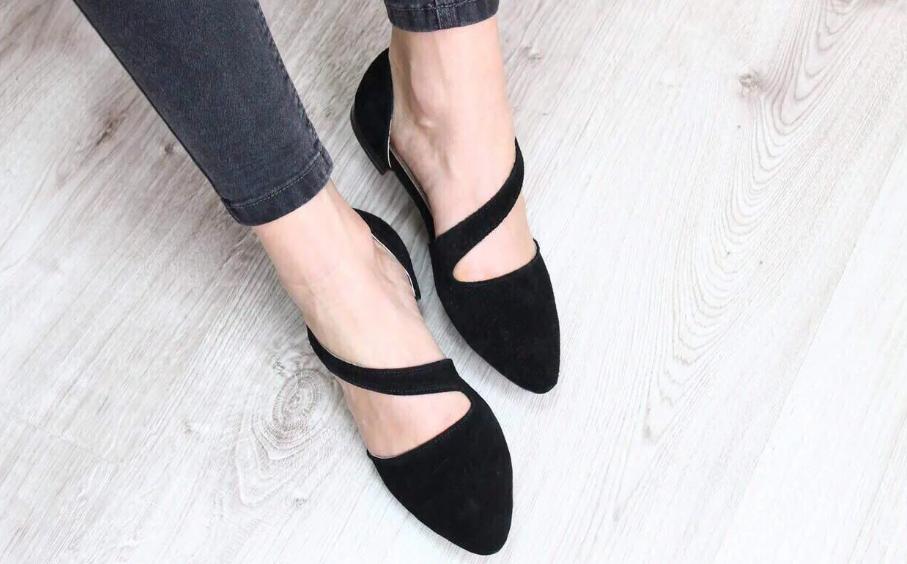 виды женской обуви балетки