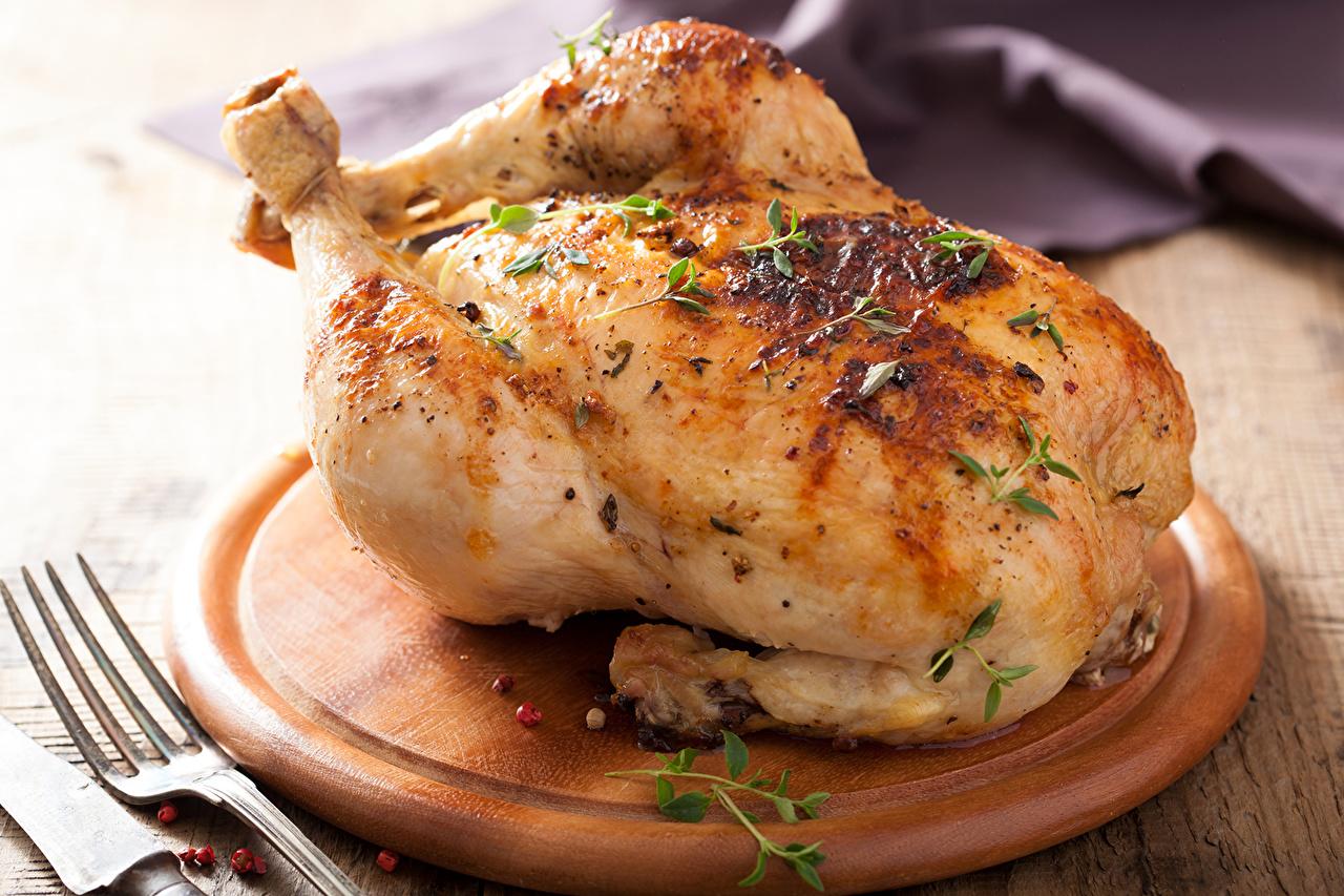 как пожарить диетическую курицу