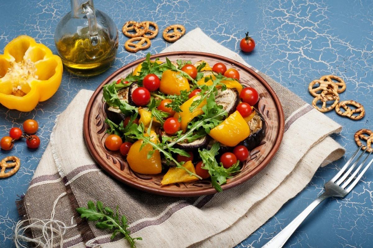 теплые салаты рецепты