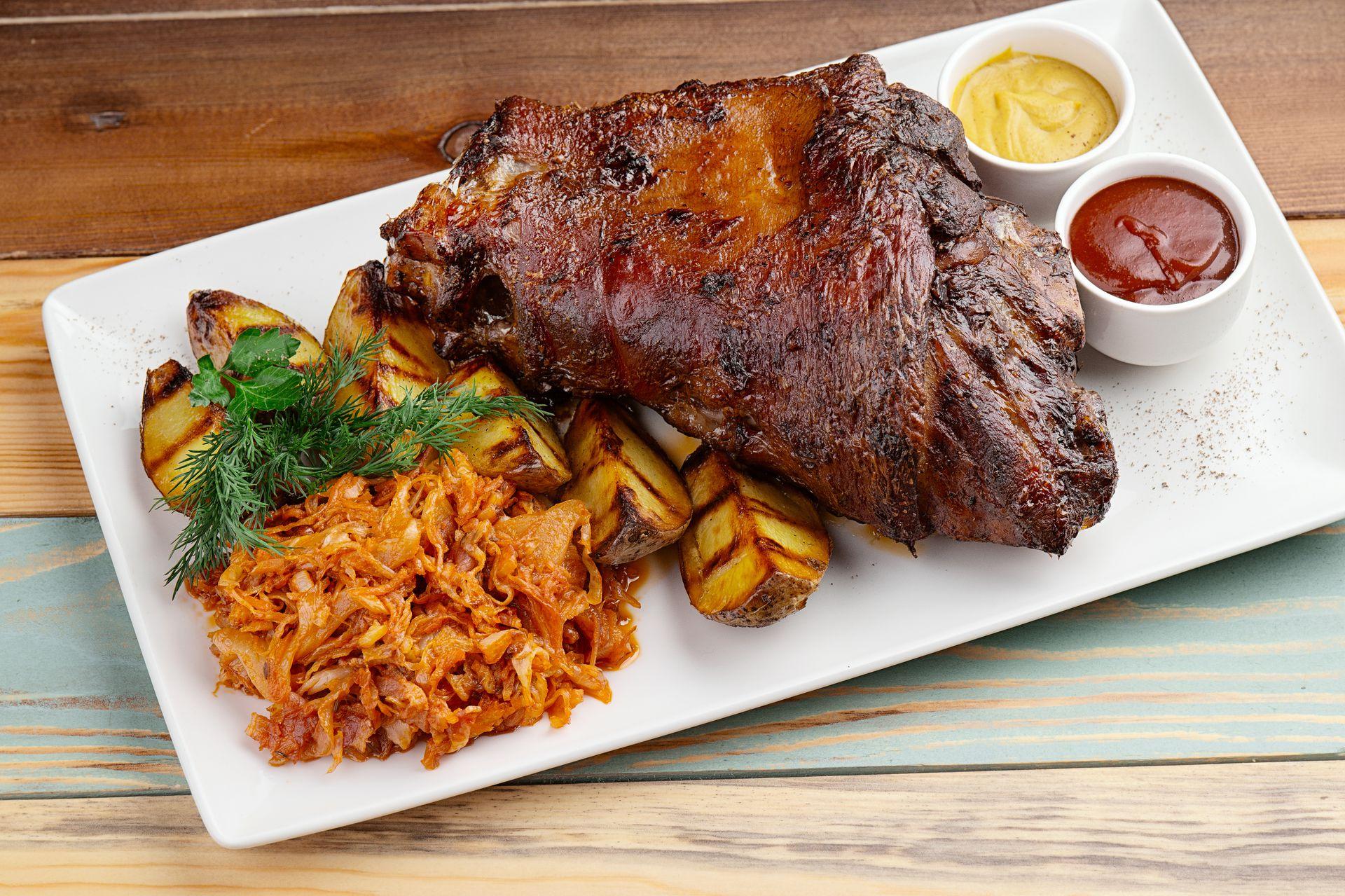 вторые блюда из свинины