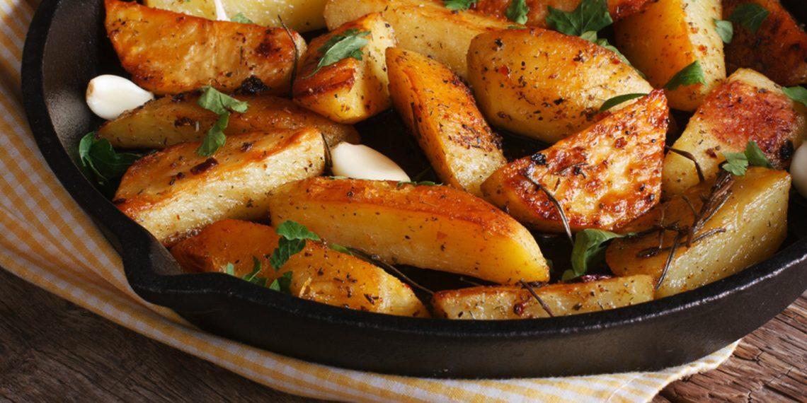 картофель по-деревенски рецепт