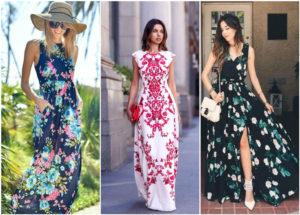 платья мода 2020