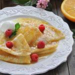 Рецепт блинов на Масленицу с французским шармом от Юлии Панковой