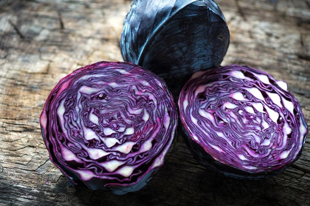 рецепты из синей капусты