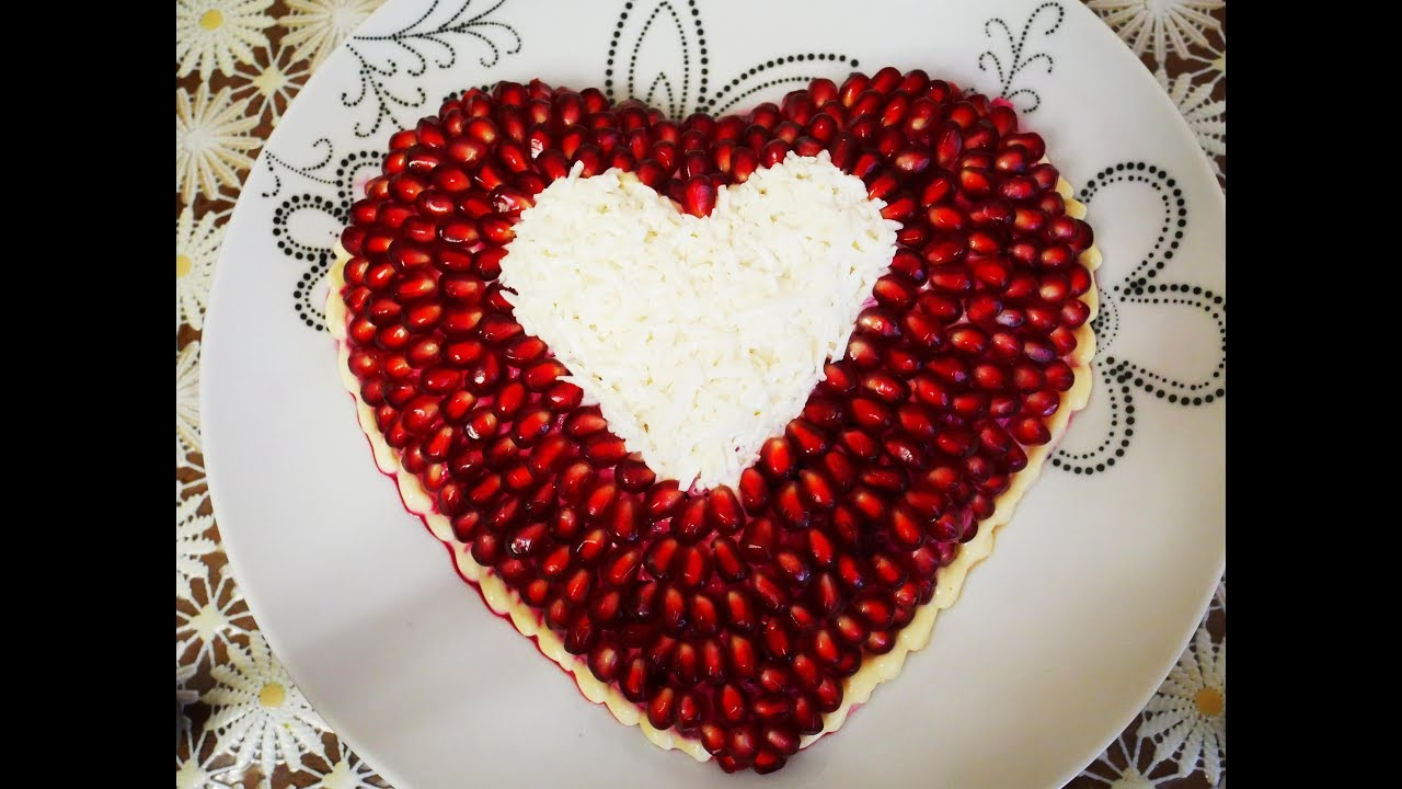 рецепты на день валентина