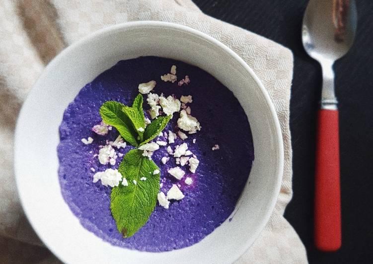 суп-пюре из красной капусты рецепт