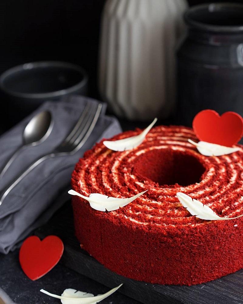 торт красный бархат