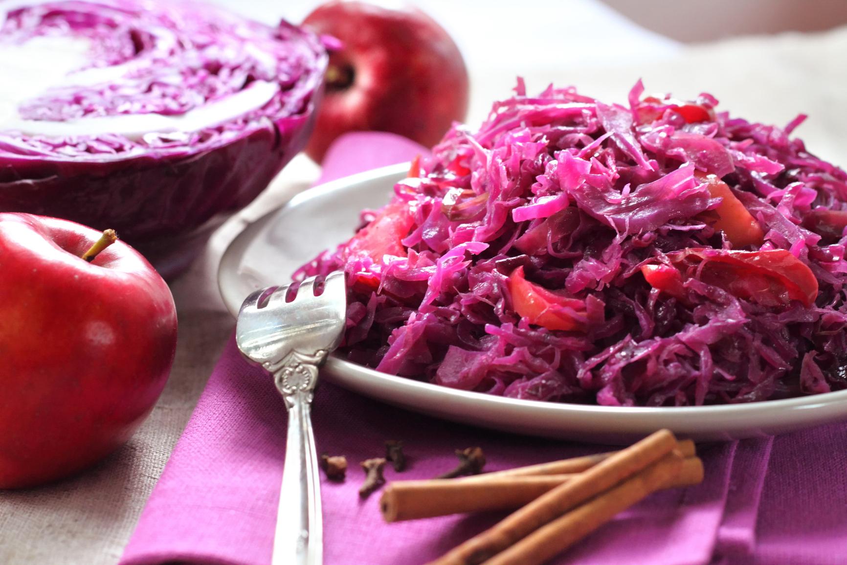 блюда из красной капусты
