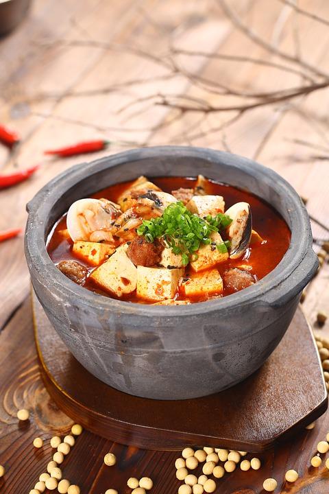 блюда с сыром тофу
